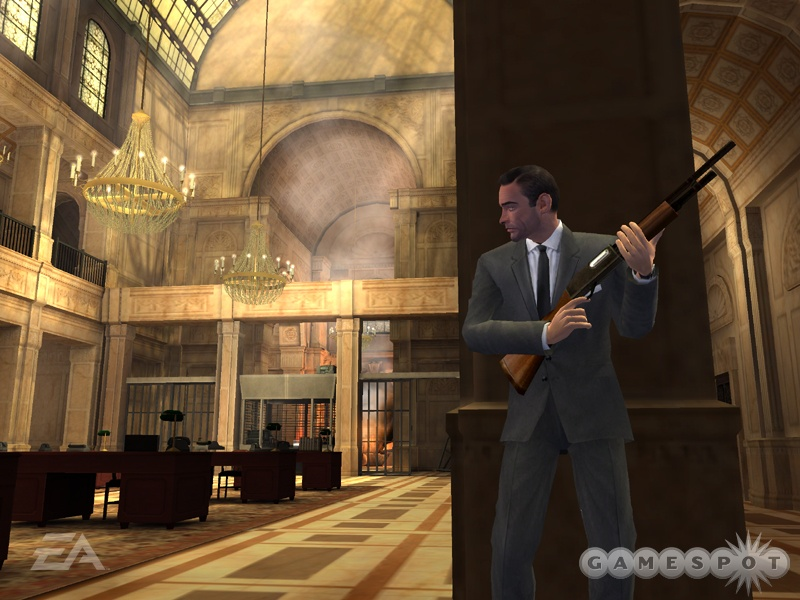 Sean Connery lends his likeness and voice to James Bond once again in EA's retelling of the film From Russia With Love.