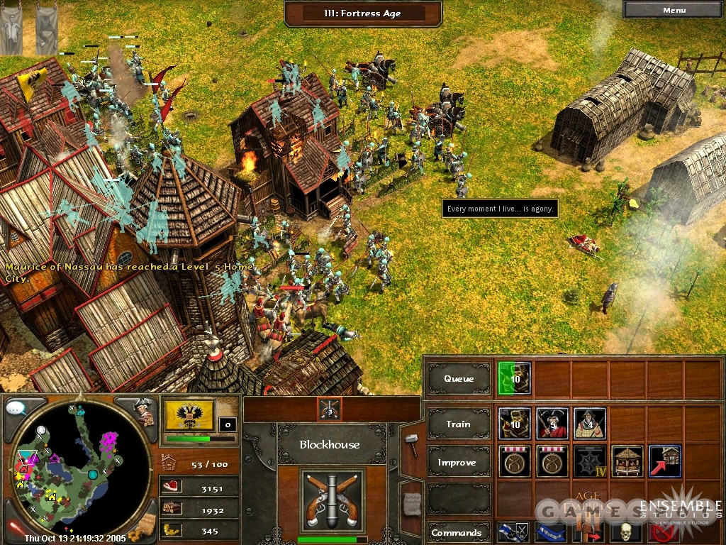 Combat between large forces gets chaotic, and the frame rate can bog down too. Micromanage your way to victory!