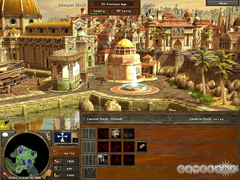 The home city concept is a novel addition to Age of Empires, and it helps instill a sense of permanence to every victory--and to every defeat, since losers still gain experience.