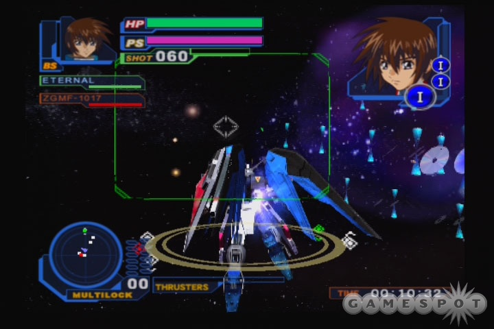 You can play through the story from two different perspectives, but the battles are pretty much the same either way.