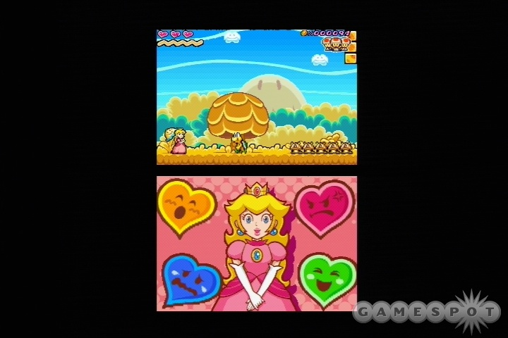 Peach will have to do it with feeling to pass many of the game's puzzles. Each emotion power comes in handy in its own way.