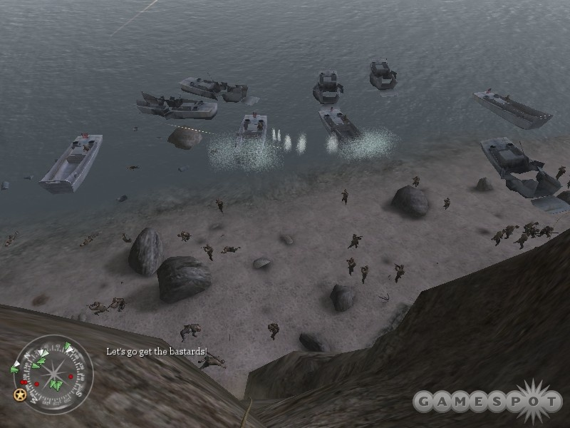 Massive amounts of infantry can populate the battlefield.