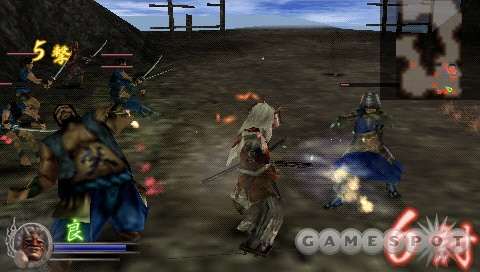 Samurai Warriors will contain a number of refinements to the presentation and gameplay last seen in the PSP version of Dynasty Warriors.