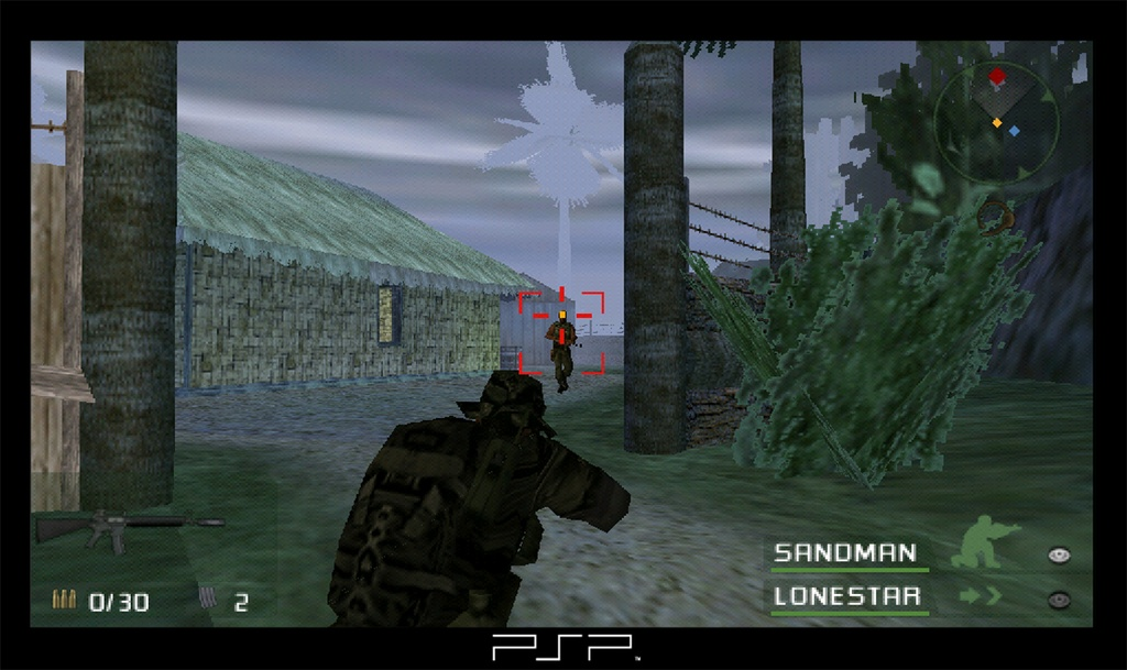 SOCOM Fireteam Bravo is easily one of the best games available on the PSP this year.