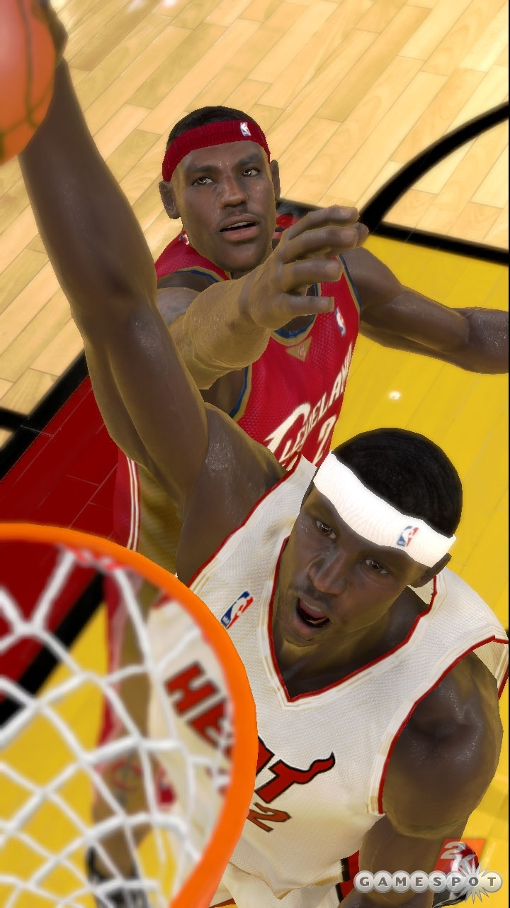 Watch LeBron watch the ball. Eye-and-head tracking will be in full effect in the game.