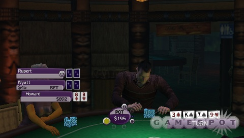 Forget your deck of cards--World Championship Poker 2 should offer a few more playing options.