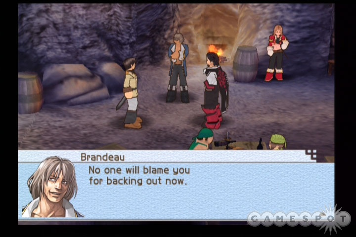 Some of the conversations in Suikoden Tactics can seem overly lengthy.