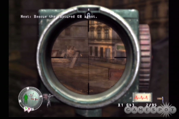 Headshots are the order of the day in Sniper Elite.