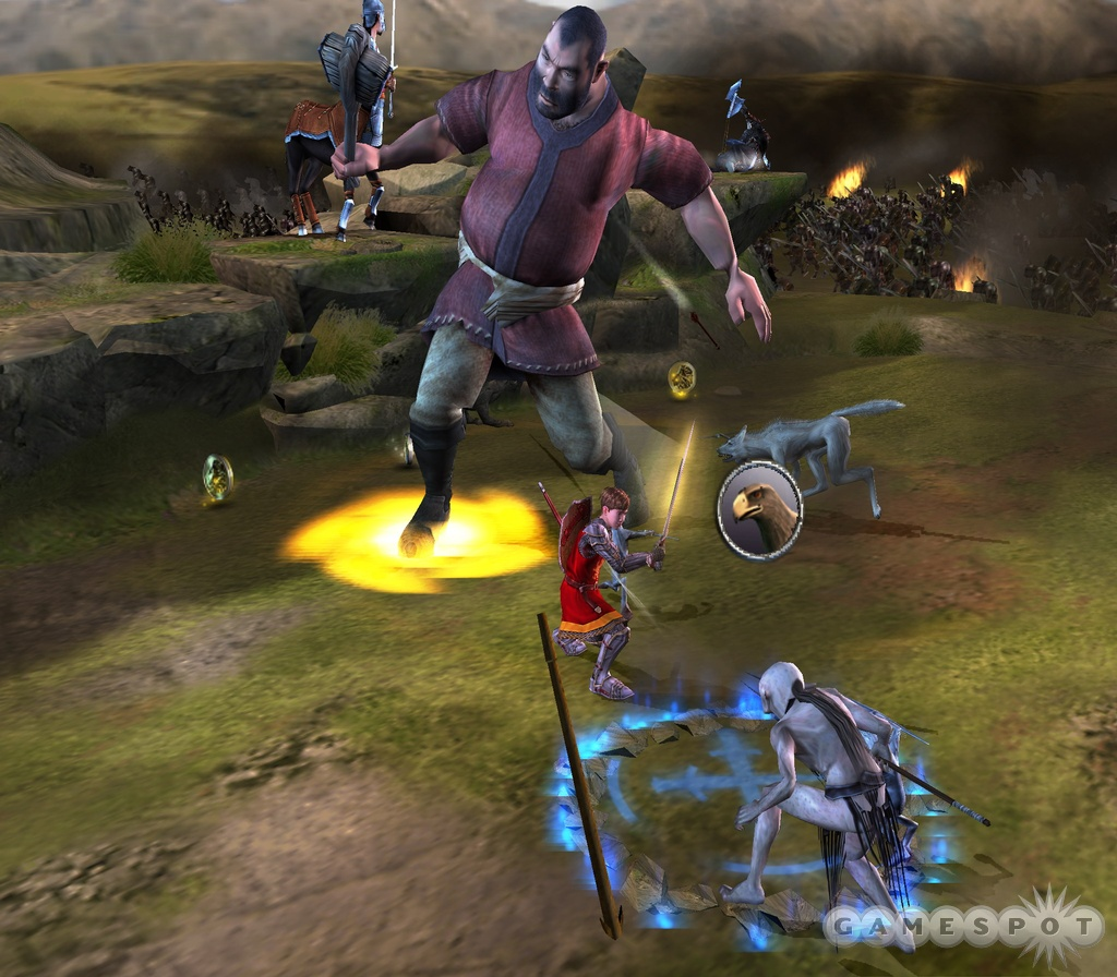 The four children will each boast entirely different abilities and attributes during gameplay.