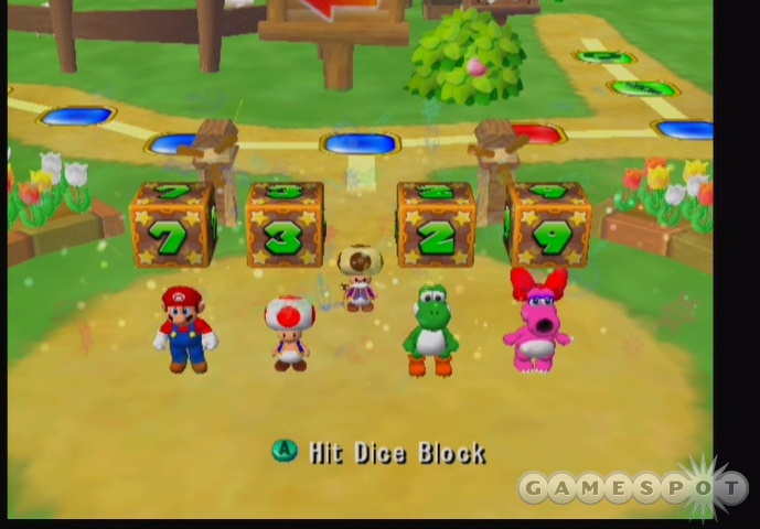 Mario's having his yearly party. Attendance is not required.