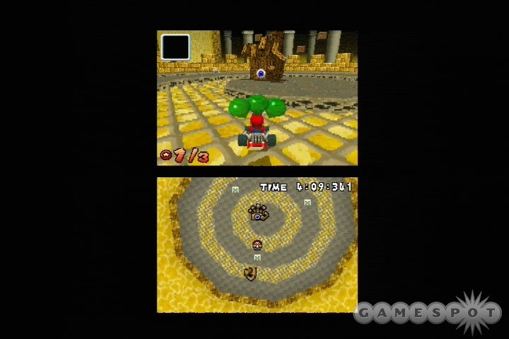 Missions and boss battles are a welcome addition to the Mario Kart mix.