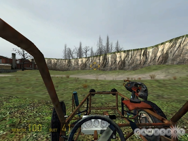 The vehicle sequences in Half-Life 2 let you speed along on land and on water.