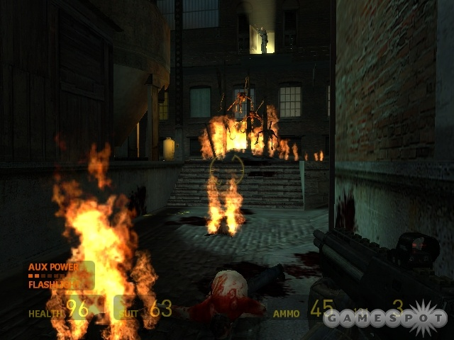 Unfortunately, Half-Life 2 on the Xbox is single-player only, so once it's done, you've seen it all.