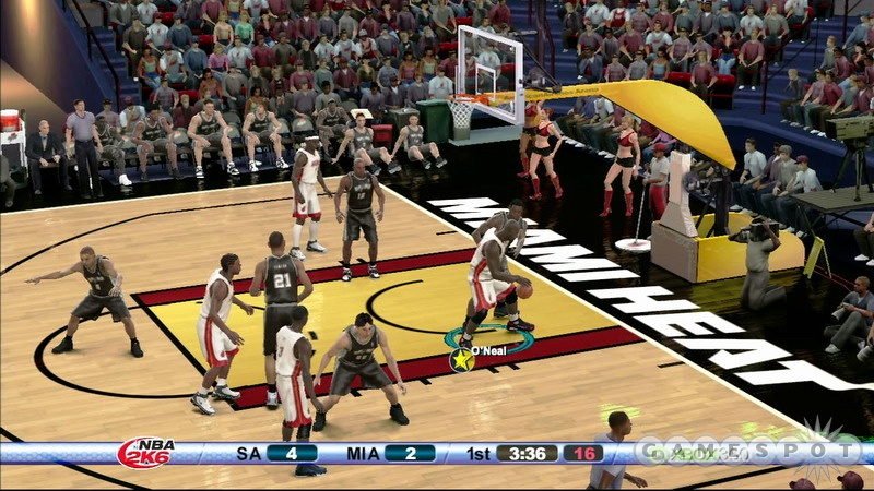 NBA 2K6 is easily the best-looking basketball game so far this year...