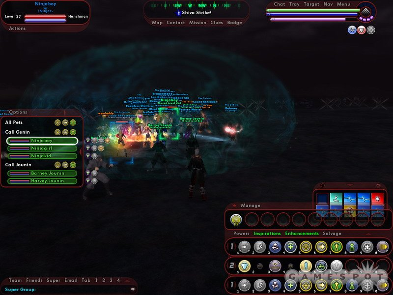 With this many people onscreen at once, PvP can turn into a system hog.