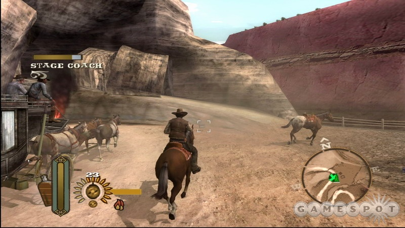Fighting on horseback is one of the better aspects of the game.