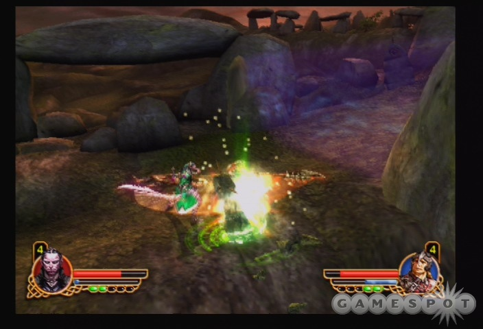The game's most powerful attack moves need to be purchased between levels.