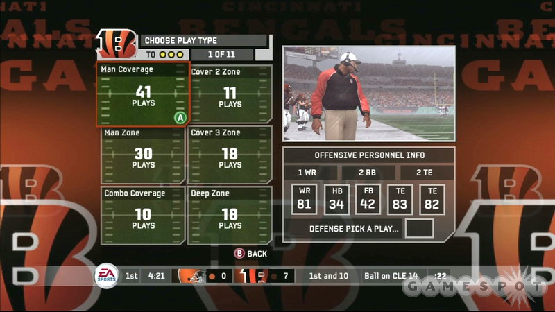 The new play-calling menus are probably the best feature this game has to offer.