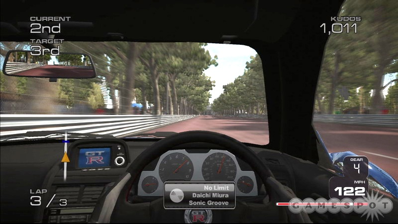 The in-car camera view is PGR 3's best, and most impressive, feature.