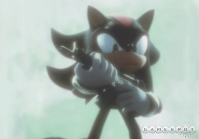 It's Sonic with guns...and terrible controls.