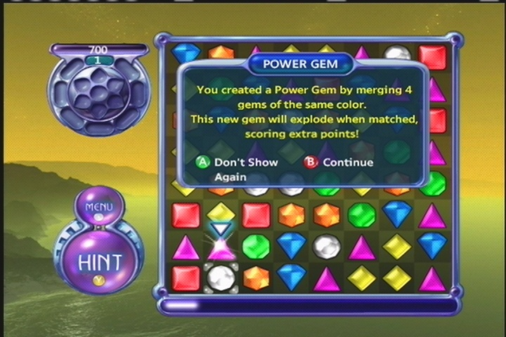 Power Gems give the game some variety.