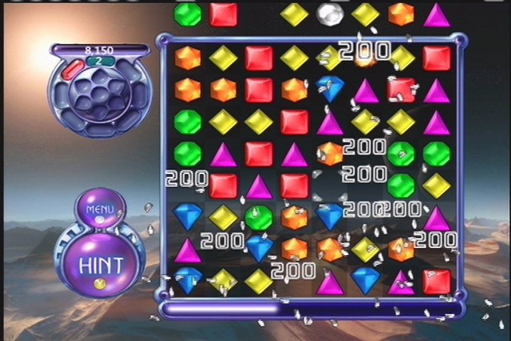 For the most part, this is tried-and-true Bejeweled gameplay.