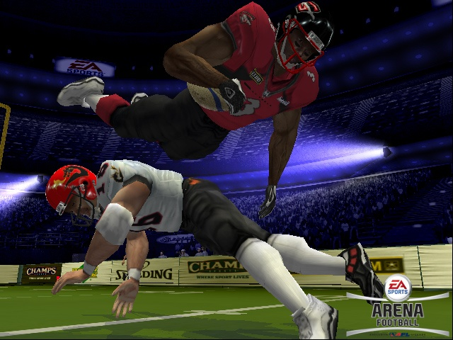 Big hits and scoring galore. Arena Football is heading to a console near you.