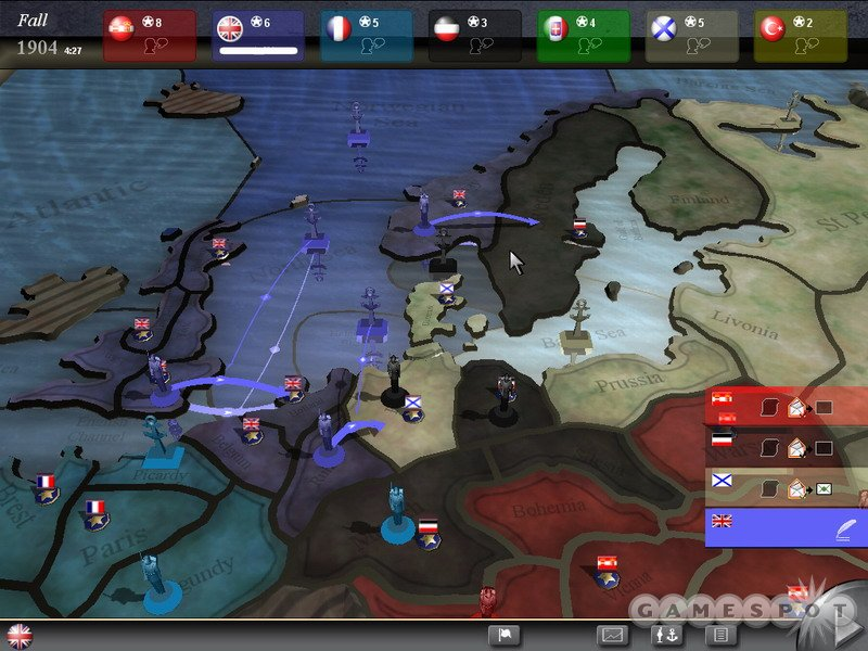 The order and diplomacy system is complicated and convoluted, and it's at the heart of this game.