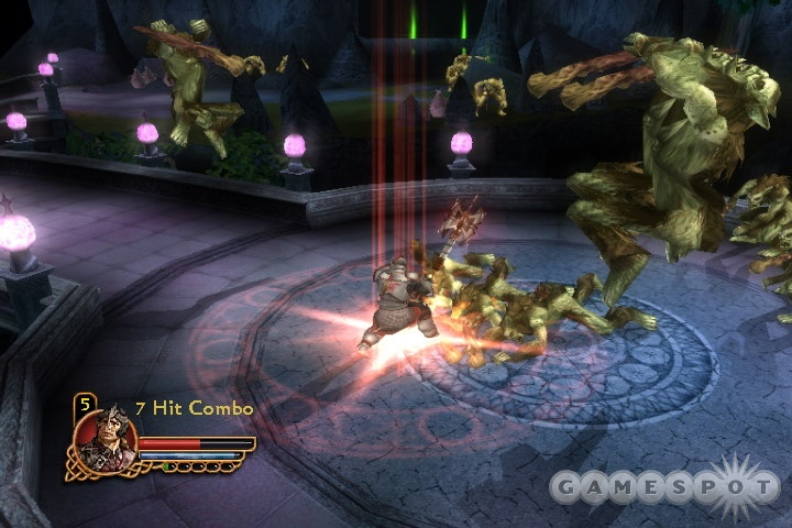 Whether you play alone or with friends, you'll find Gauntlet's gameplay to be simple and repetitive to a fault.