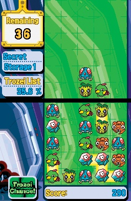 Pokémon Trozei is like the Mobius strip of puzzle games.