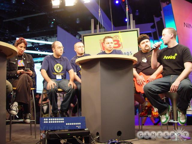 The GameSpot crew appeared live on stage, from the E3 show floor.