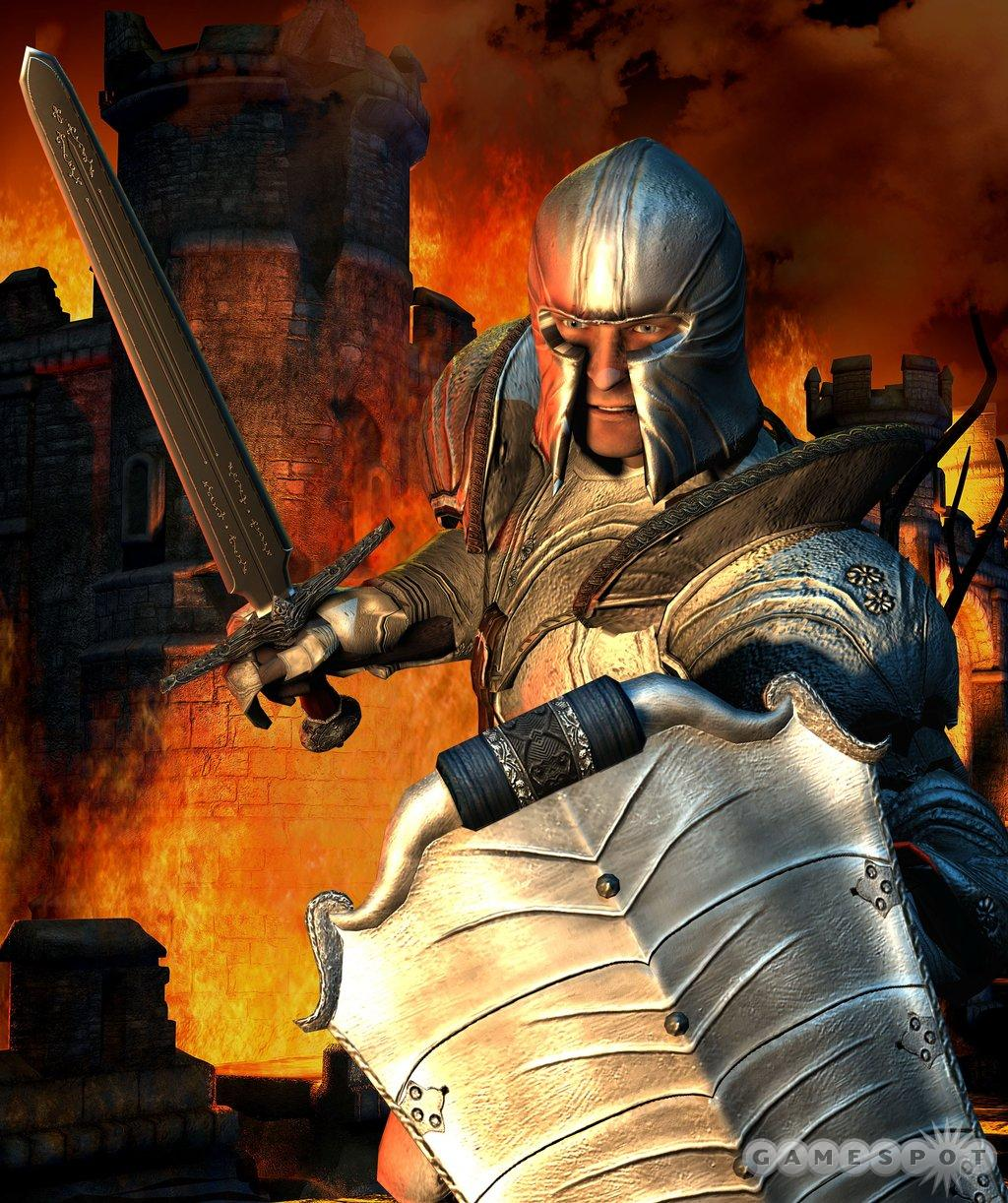 In The Elder Scrolls IV: Oblivion, you'll take up your sword and shield in a brave new world.