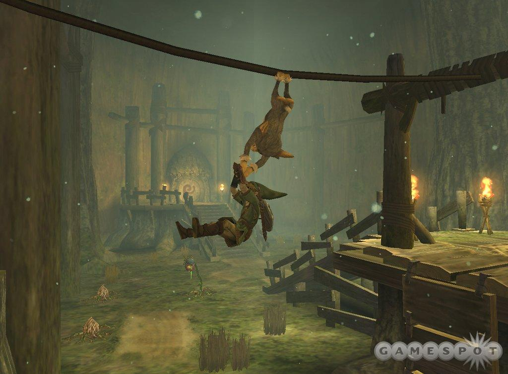 Link's back for a swingin' good time in Twilight Princess.
