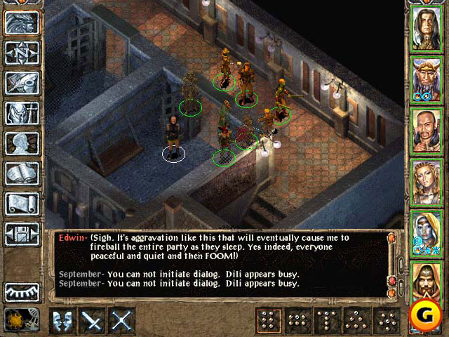 September and I have a history that dates back to Baldur's Gate II or so.