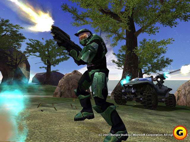 No Master Chief for the 360 launch.