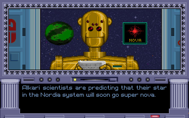 Random events, like supernovas and space monsters, helped to mix the gameplay up.