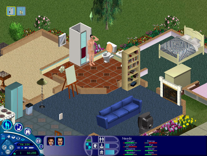 The Sims's broad reach was due partially to its modesty and partially to its allowance of same-sex marriage.