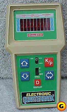 Still, Atari Football was better than the handheld competition.