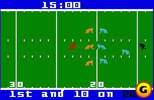 NFL Football in action.