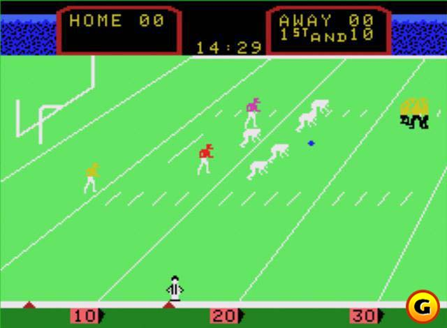 Coleco gave us a new perspective on the gridiron.