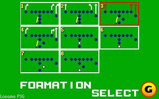 ...including the scant playcalling and formation selection.