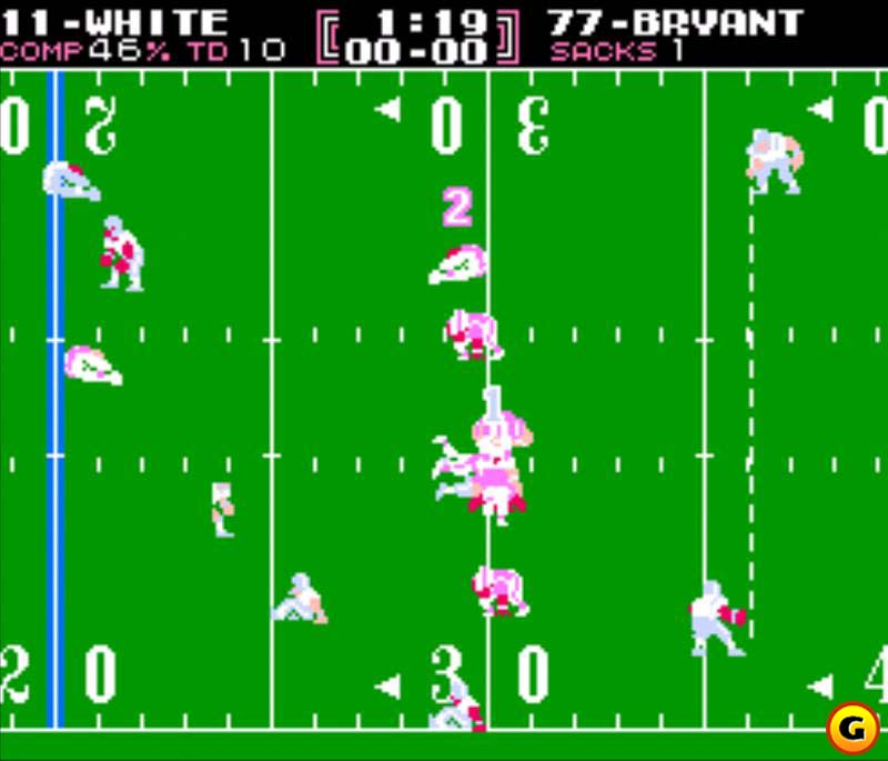 Tecmo Bowl was pure fun from an arcade perspective.
