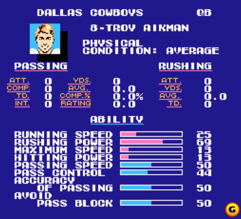 Unparalleled depth made Tecmo Super Bowl a huge hit.