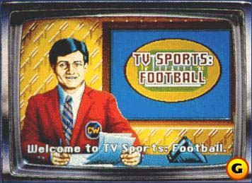 TV Sports Football lived up to its name.