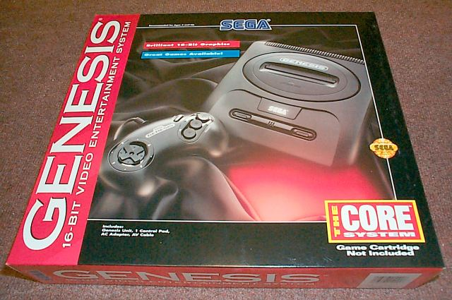 The Genesis helped bring football and sports gaming into the modern era.