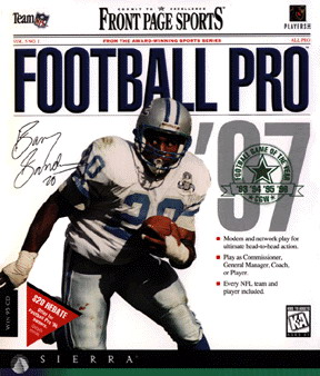Hard to believe today, but the PC was once a dominant platform for football video games.