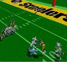 Madden 97 on the PlayStation.