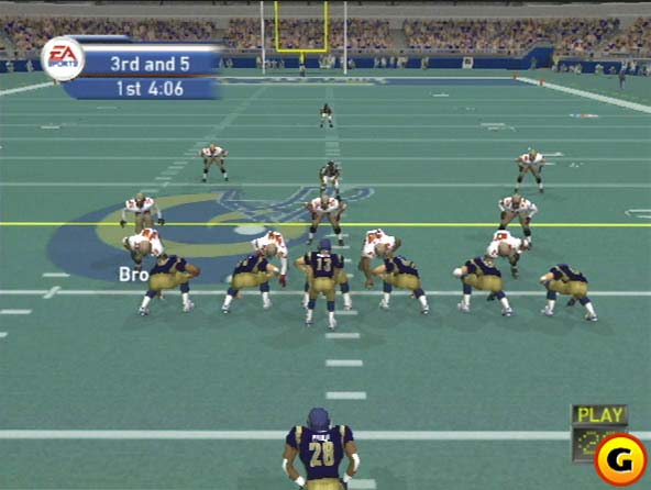 A look at an early PS2 version.