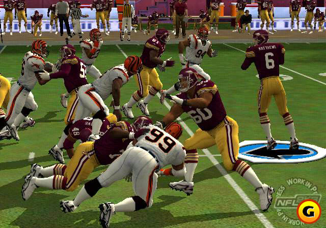 NFL 2K3 offered incredible detail.