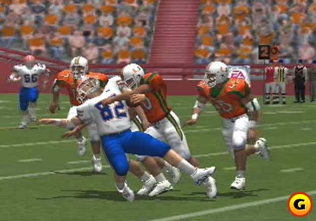 EA's NCAA Football series succeeded the Bill Walsh games.